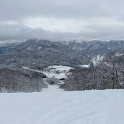 【白馬岩岳スノーフィールド】多彩なコースで十分に満喫できる「隠れが的」スキー場