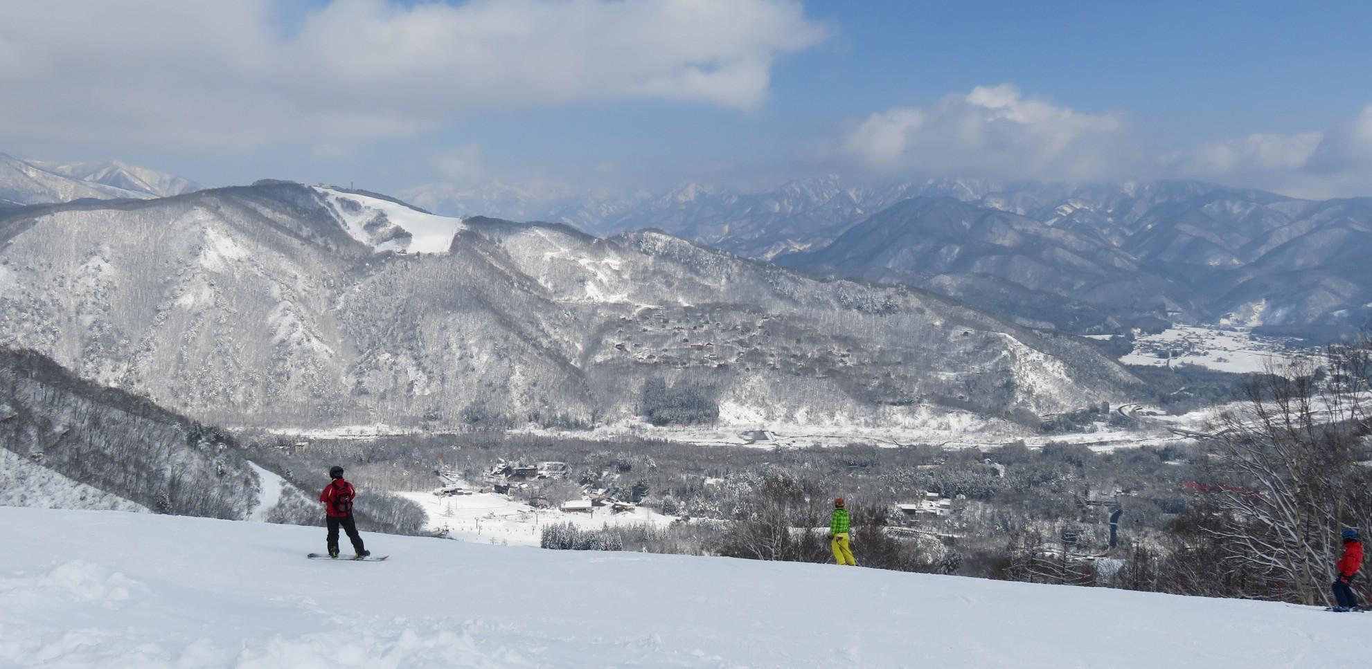 【白馬八方尾根スキー場】パウダースノー、長い距離を滑りたい時おすすめ!