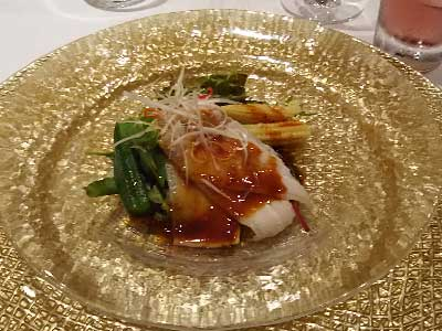 重慶飯店コース料理中華風サラダ